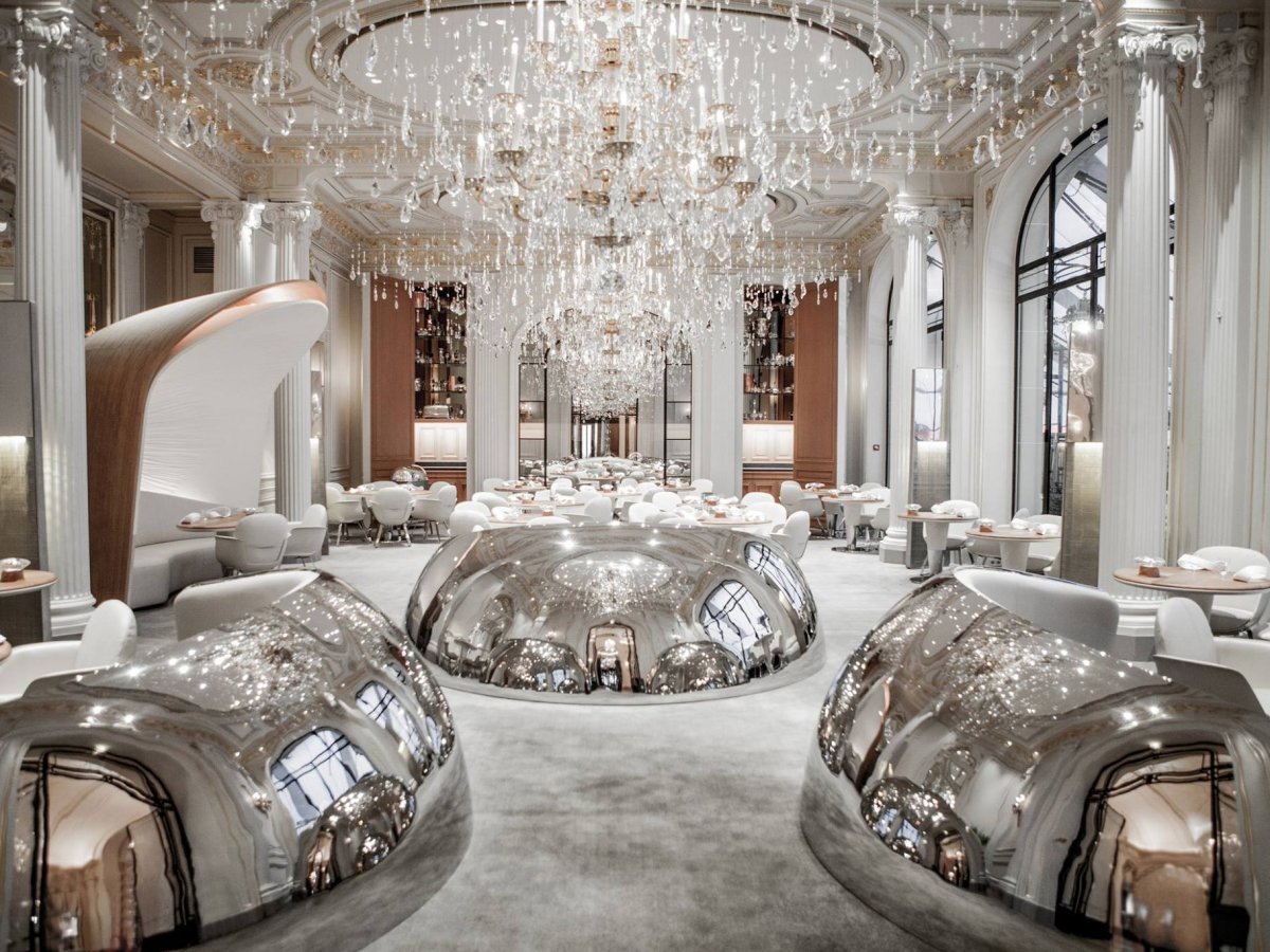 Eat at a Michelin-starred restaurant like Alain Ducasse au Plaza Athénée.