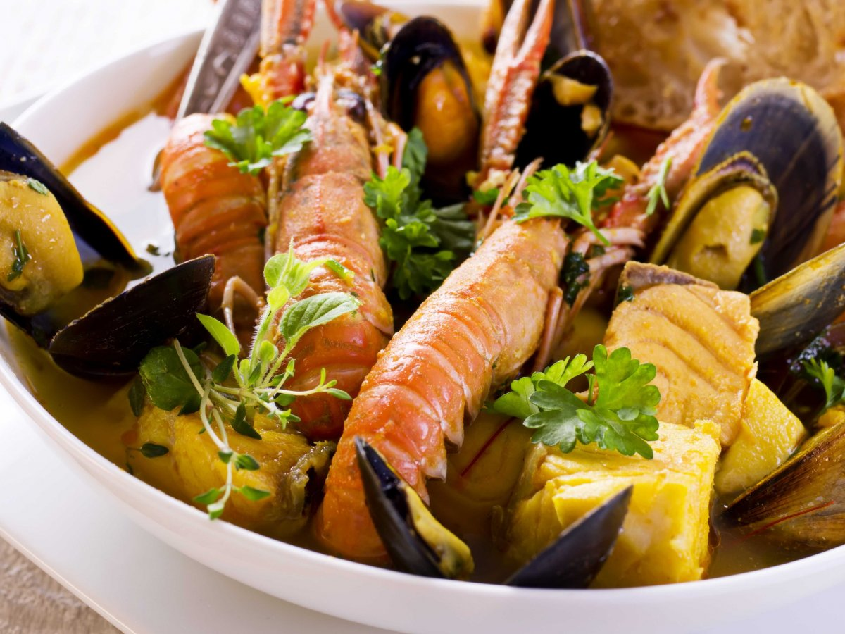 Slurp up a bowl of bouillabaisse (fish stew) in its birthplace, Marseille.