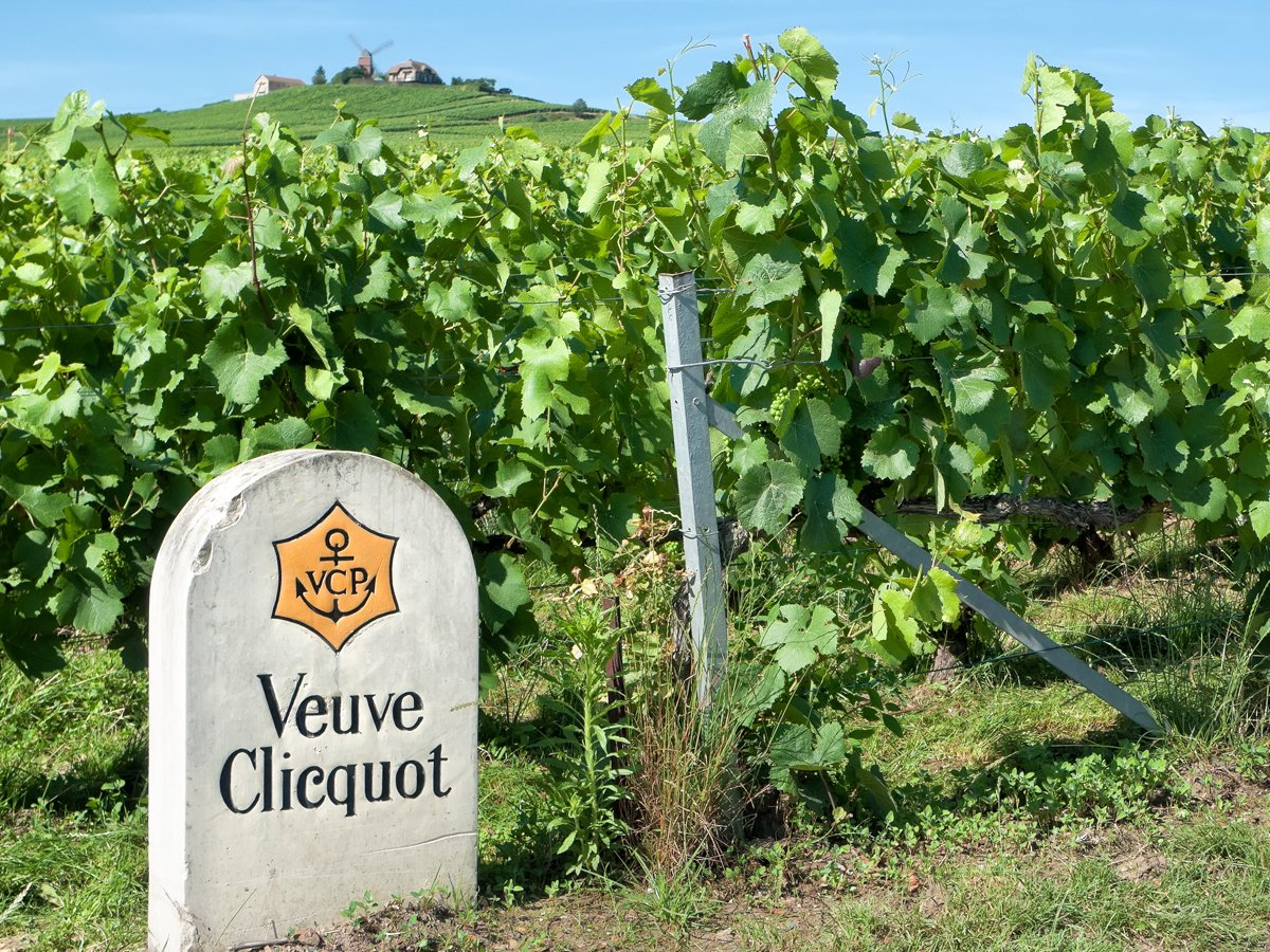 Taste Champagne in the Champagne region.