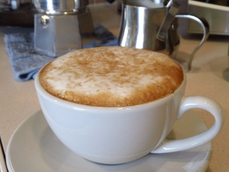 Café au lait — France